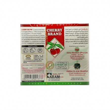 Thé noir Ceylan (en sachets) Cherry Brand x112