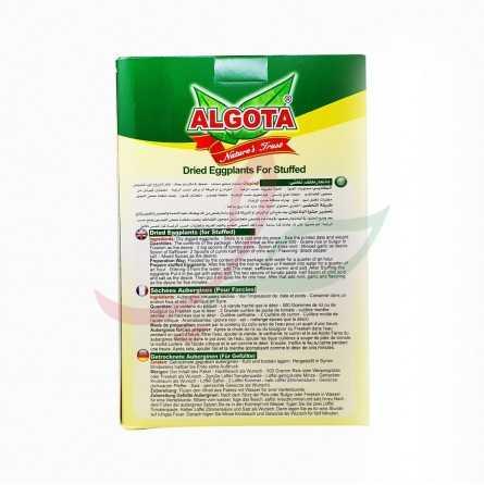 Aubergine vidée séchée Algota 75g