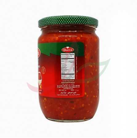 Hot chilli concentrate Durra 650g