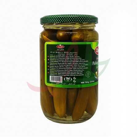 Pickled cucumber in vinegar Durra 720g