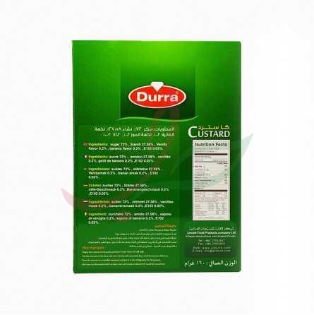 Custard nature Durra 160g