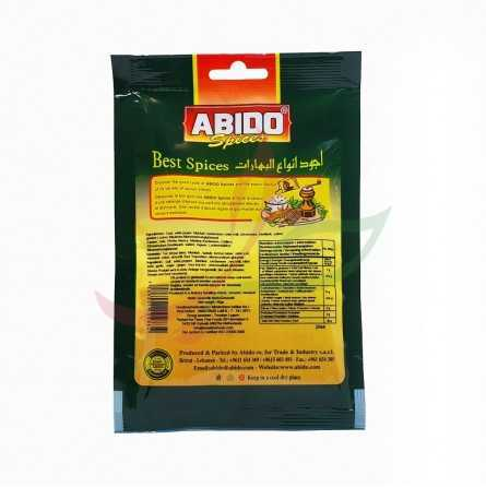 Epices shawarma poulet Abido 50g