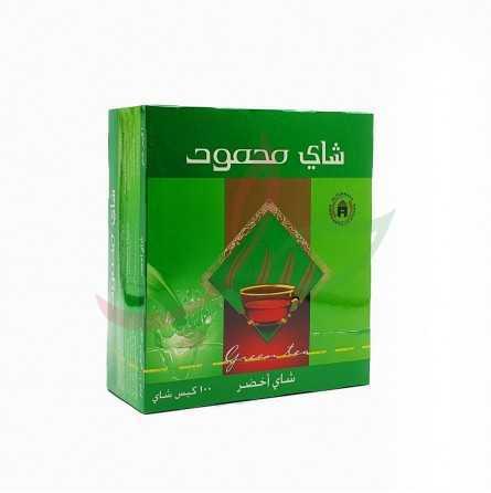 شاي أخضر 100 ظرف محمود