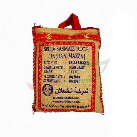 Riz long Sella basmati Shaalan 5kg