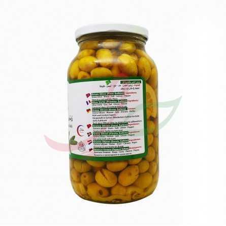 Olives vertes salkini Algota 1300g