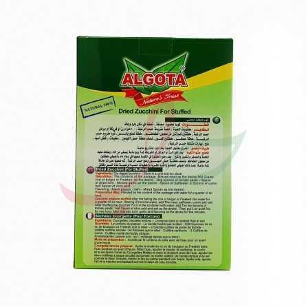 Courgette vidée séchée Algota 150g