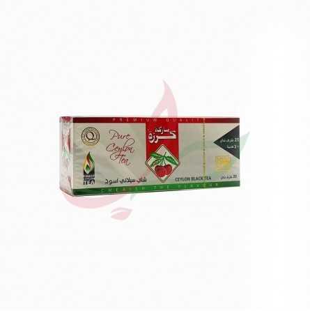 Thé Cherry brand sachets Ceylan X100