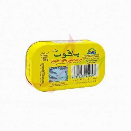 Sardines à l'huile Yakout 125g