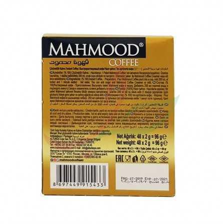 Instant coffee Mahmood Gold 48x2g