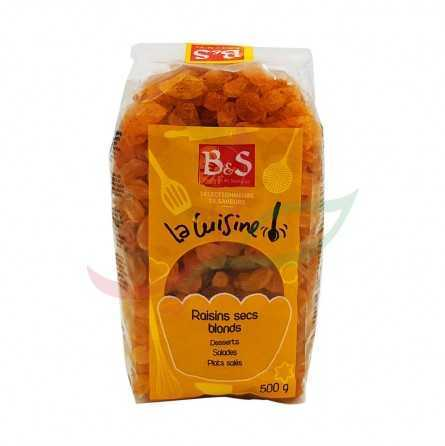 Golden dried grape B&S 500g