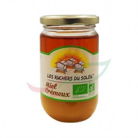 Miel de fleurs bio crémeux 375g