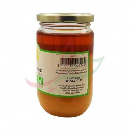Creamy organic flower honey 375g