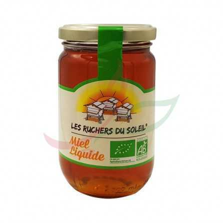 Miel de fleurs bio liquide 375g