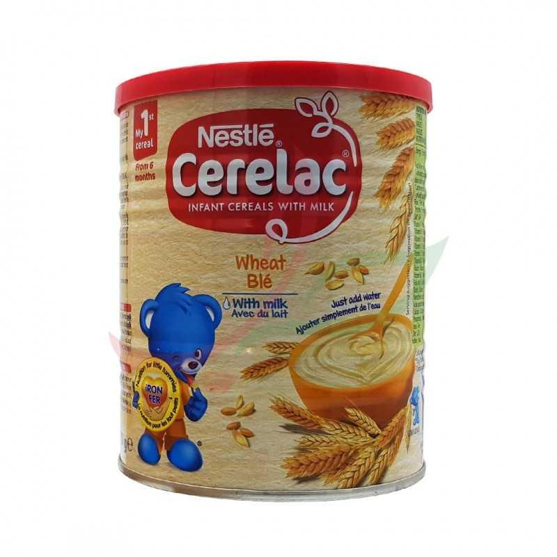 Cerelac blé avec lait Nestlé 400g