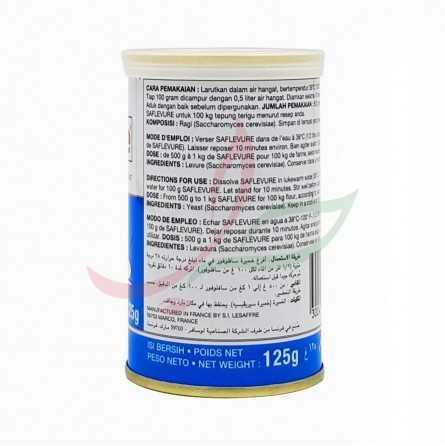 Dry baker's yeast Saf-levure 125g