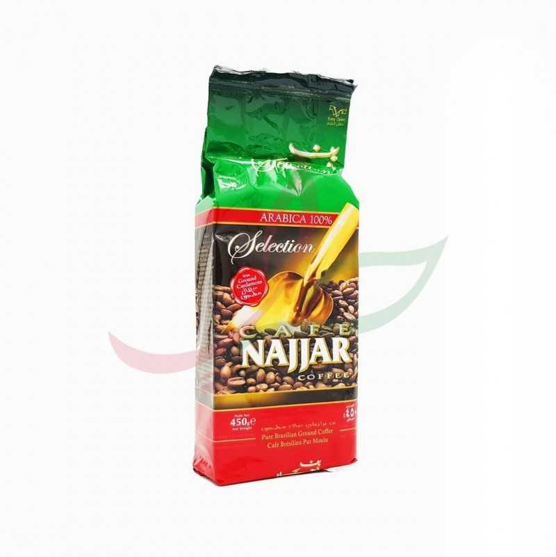 Café moulu à la cardamome Najjar 450g