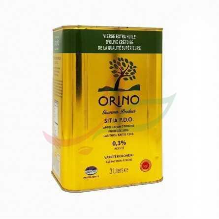 Olio extravergine d'oliva greco Orino 3L