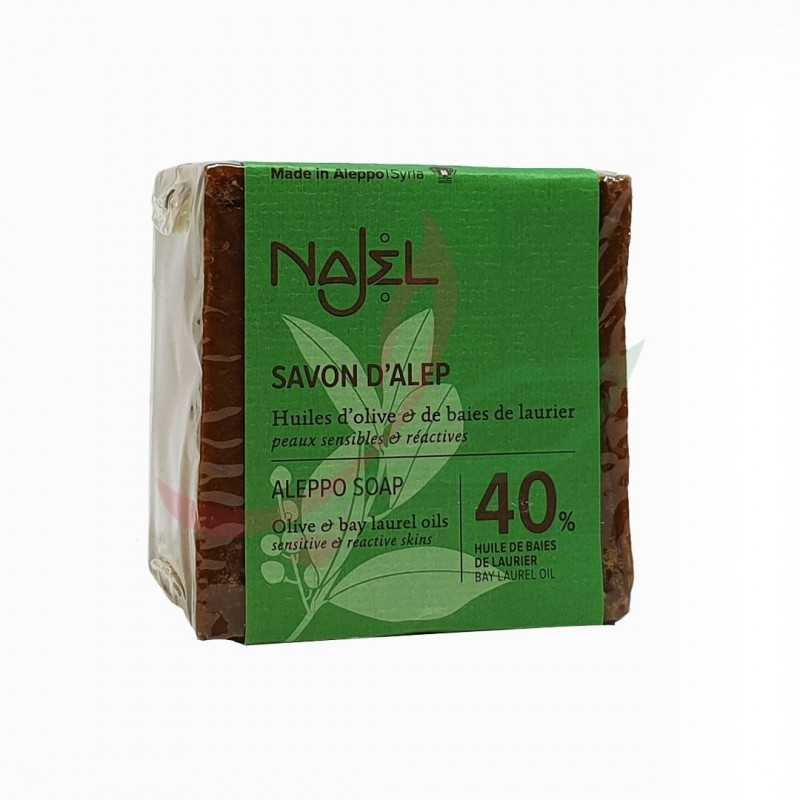 Aleppo soap 40% laurel oil Najel 180g