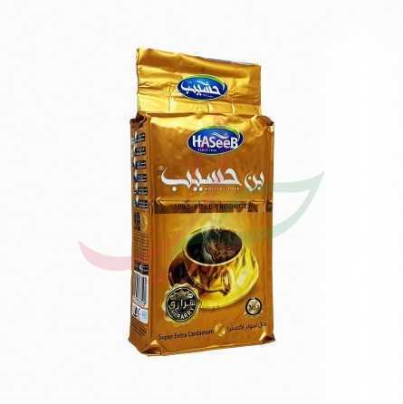 Café moulu à la cardamome (golden) Haseeb 500g
