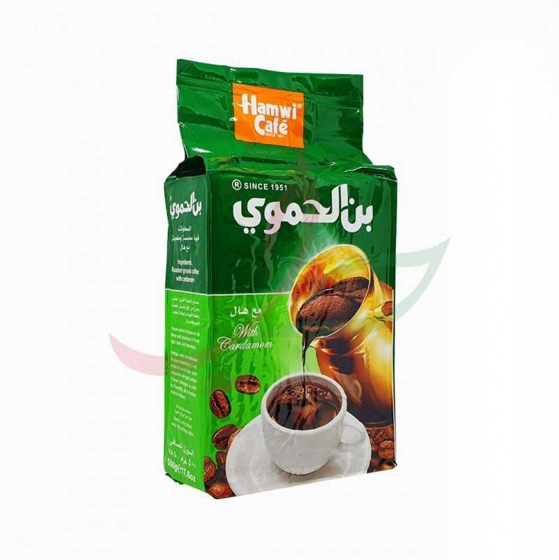 Café moulu à la cardamome Hamwi 450g