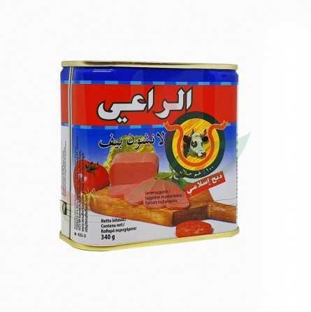 Beef mortadella halal Al-raii 340g