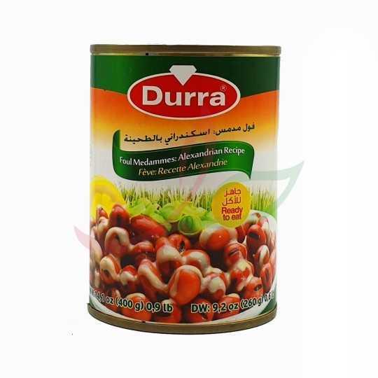 Foul medammas with tahini (Alexandria bean recipe) Durra 400g