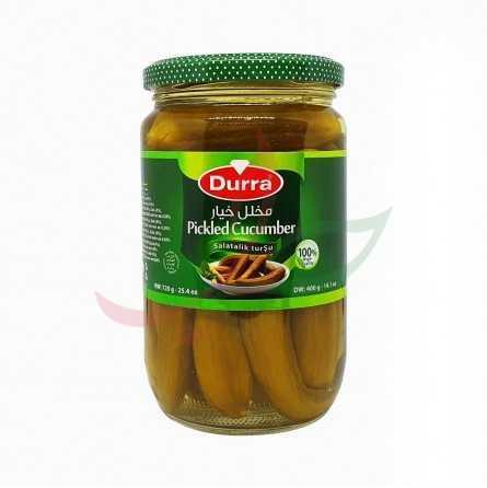 Concombre mariné au vinaigre Durra 720g