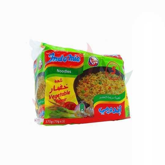 Indomie nouilles instantanées (pack) - végétarien 5x75g
