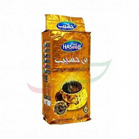 Ground coffee with cardamon (golden) Haseeb 200g