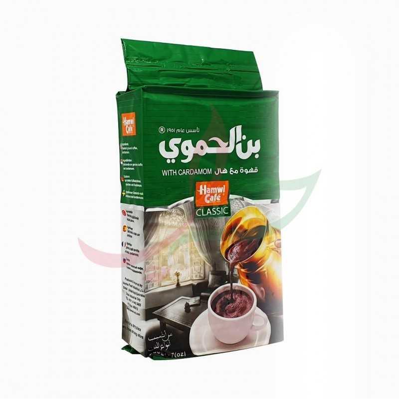 Café moulu à la cardamome Hamwi 180g