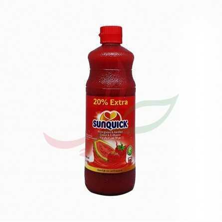 Sirop fraise et goyave Sunquick 840ml