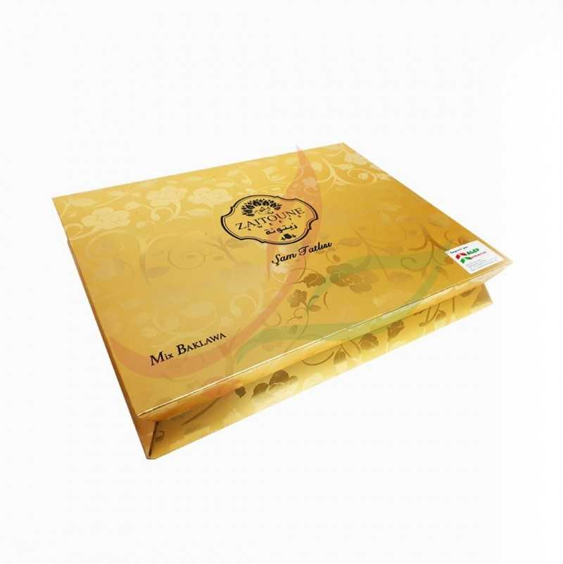 Baklava mixte royal Zaitouna 750g