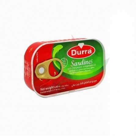 Sardine piquante à l'huile Durra 125g