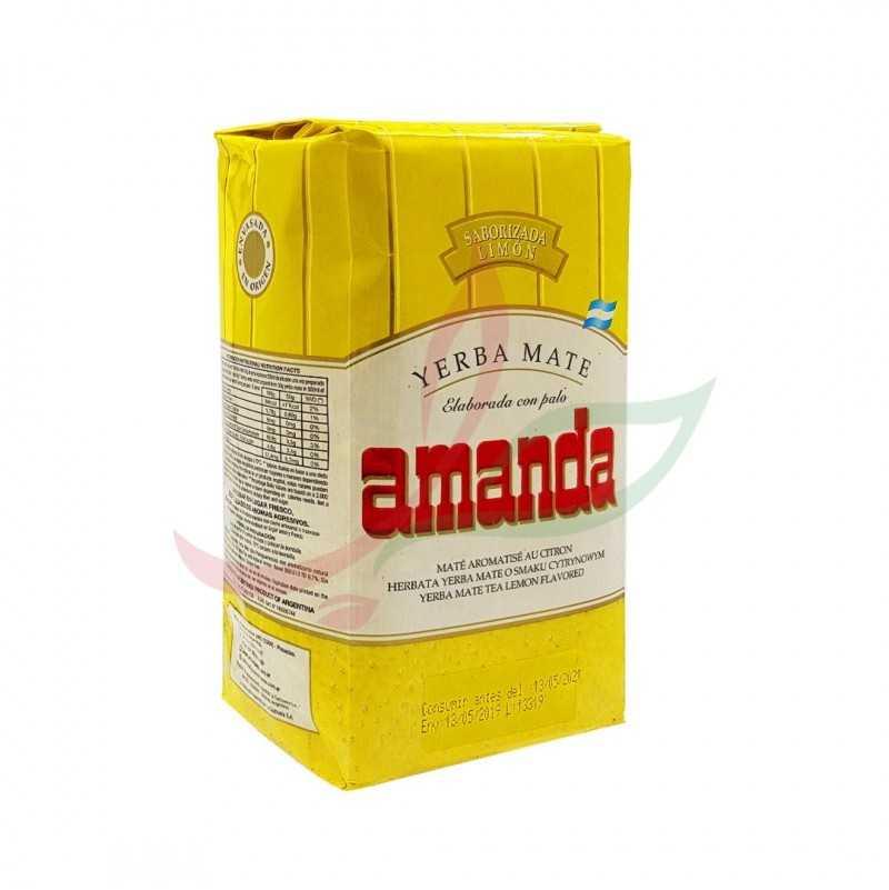 yerba maté aromatisé au citron Amanda