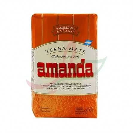 yerba maté à l'orange Amande