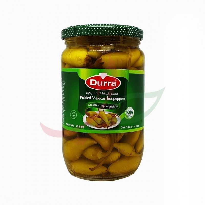 Pickled pepper Durra 650g