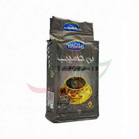 Ground coffee with cardamom (silver) Haseeb 500g