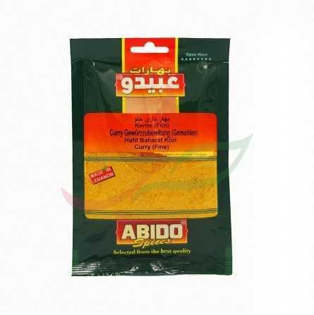 Épice curry doux Abido 50g
