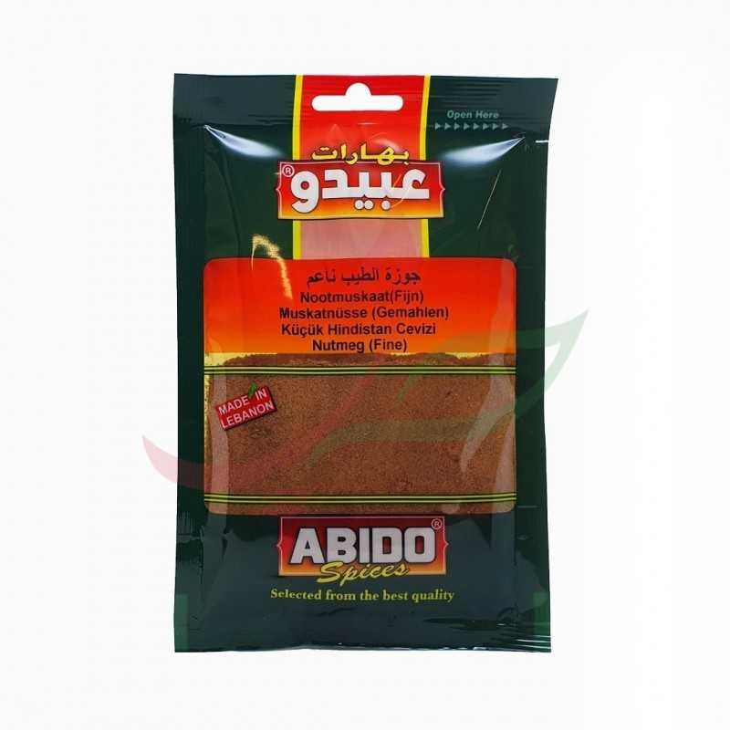 Ground nutmeg Abido 50g