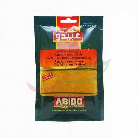Yellow ras alhanout Abido 50g