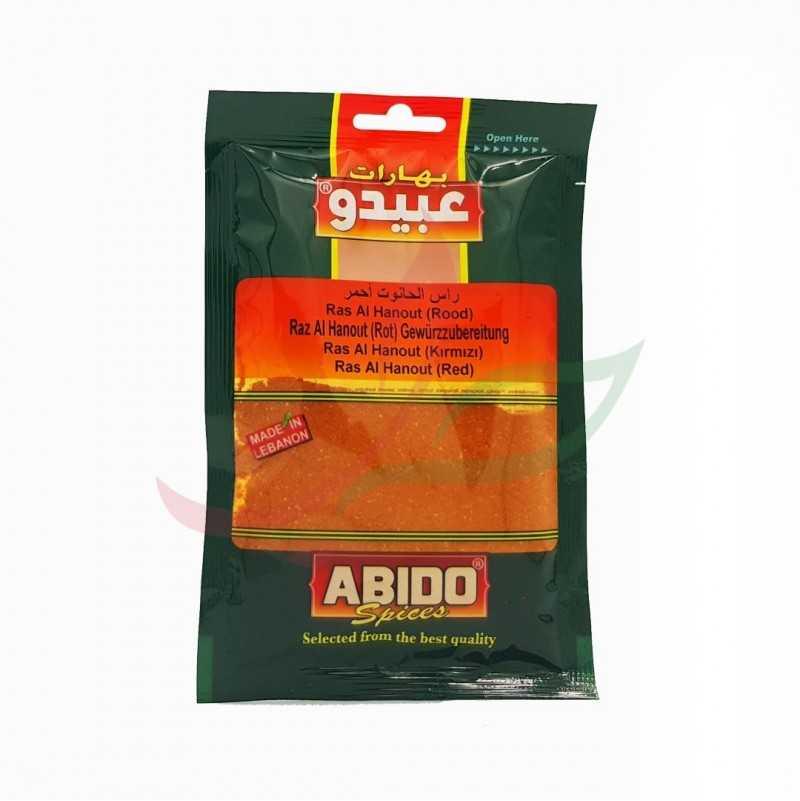 Ras alhanout rouge Abido 50g