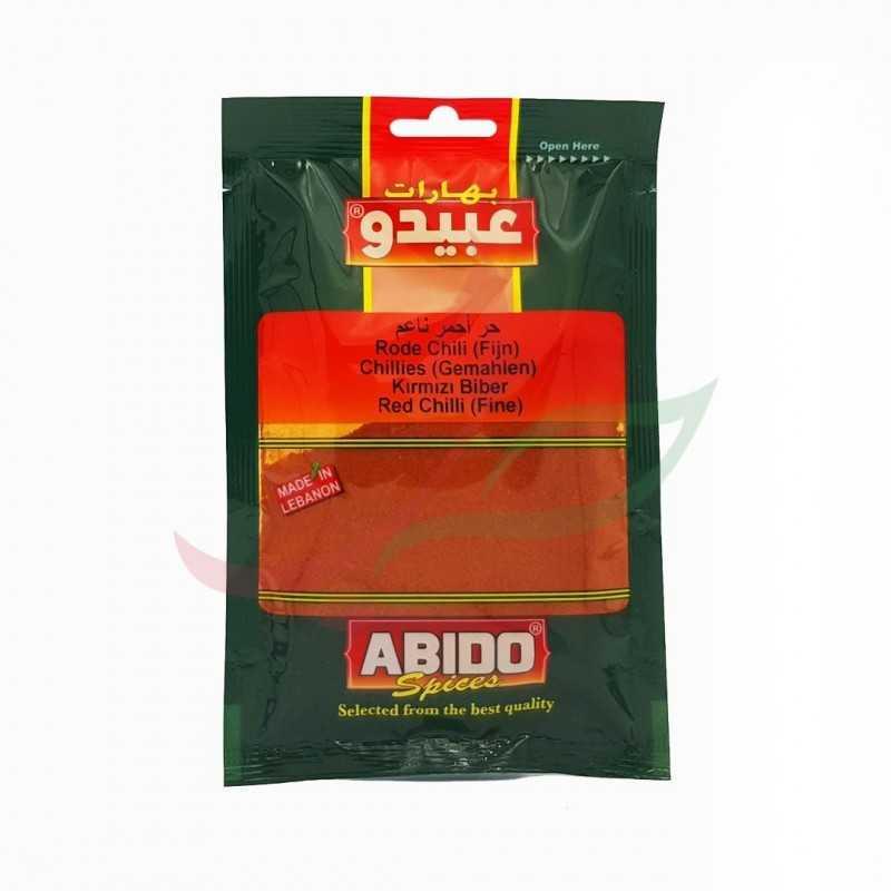 Épice chili Abido 50g