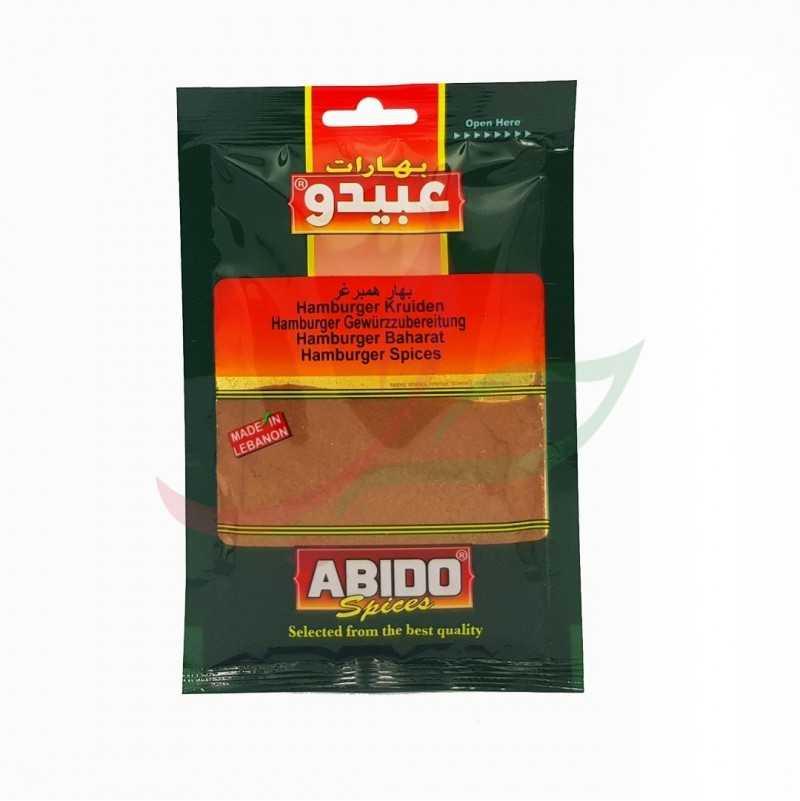 Épice hamburger Abido 50g