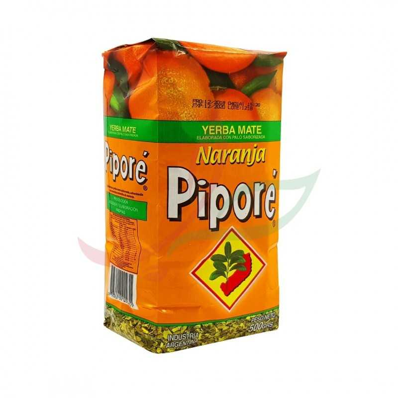 Yerba maté à l'orange Piporé 500g