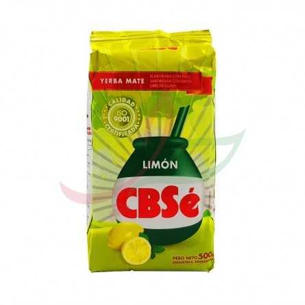 Yerba maté au citron CBSE 500g