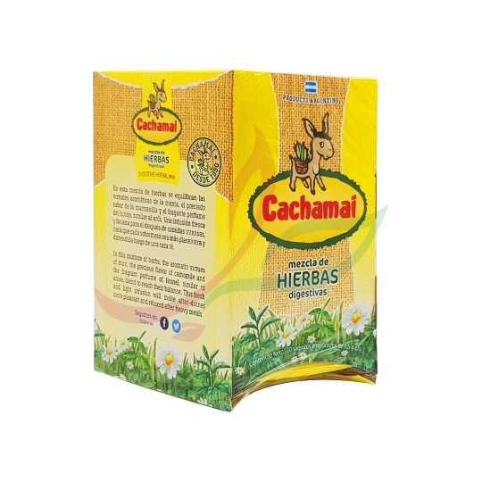 Infusion d'herbes variées (en sachets) Cachamai x20