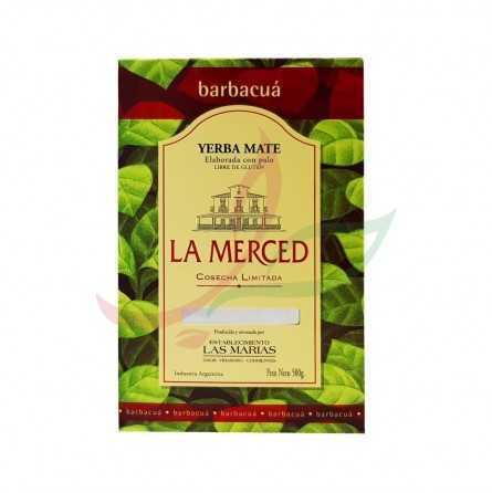 Yerba mate Barbacua La Merced 500g