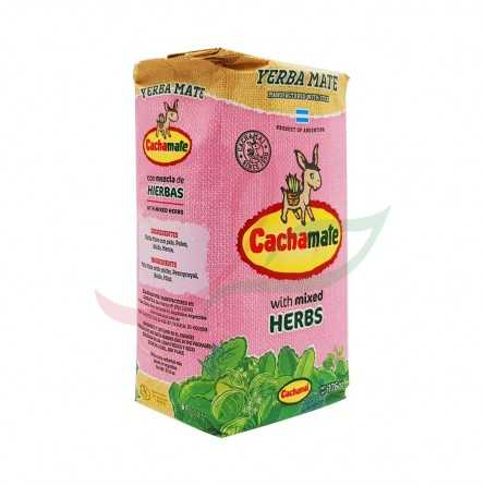 Yerba maté - mélange d'herbes Cachamate 500g