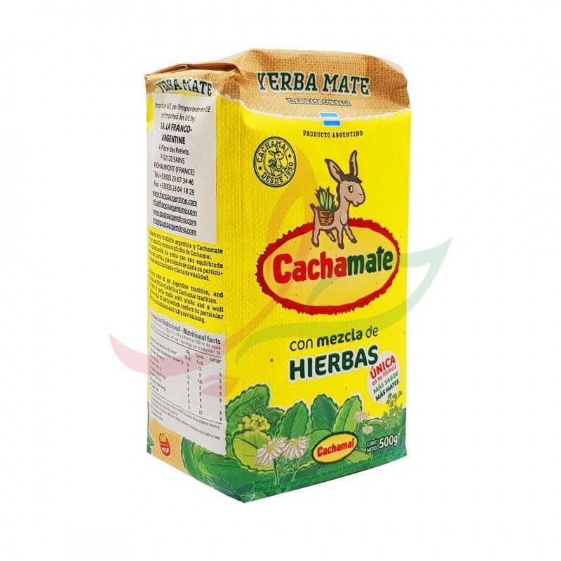 Yerba maté Suave herbias Cachamate 500g