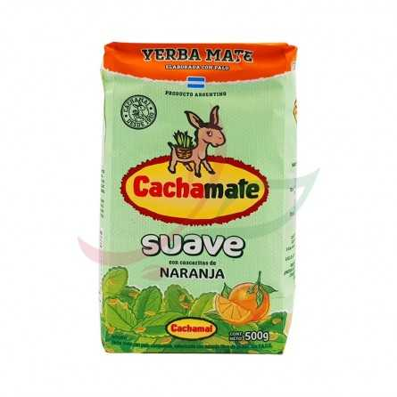 Yerba mate Suave orange Cachamate 500g